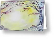 Wonderland Bliss Greeting Card by Joseph Palotas