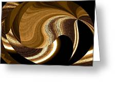 Wood Grains Greeting Card by Will Borden