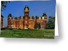 Woodburn Hall In Morning Greeting Card by Dan Friend