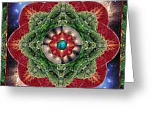World-Healer Greeting Card by Bell And Todd