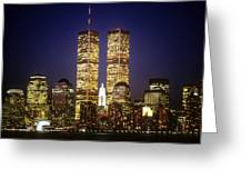 World Trade Center Greeting Card by Gerard Fritz