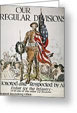 World War I: U.s. Army Greeting Card by Granger