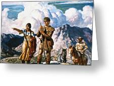 Wyeth: Sacajawea Greeting Card by Granger