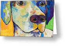 Yancy Greeting Card by Pat Saunders-White