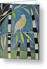 Yellow Bird Up High... Greeting Card by Tim Nyberg