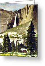 Yosemite IIi Greeting Card by Bill Meeker