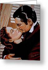 You Need Kissing Badly Greeting Card by Al  Molina