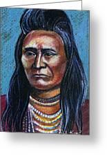 Young Indian Greeting Card by John Keaton