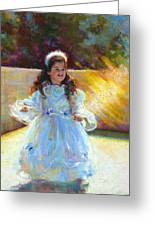 Young Queen Esther Greeting Card by Talya Johnson