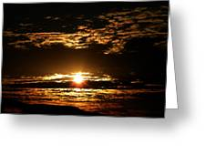 Yucca Valley Desert Sunrise Greeting Card by Carlos Reyes