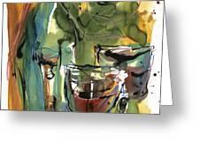 Zin-FinDel Greeting Card by Robert Joyner