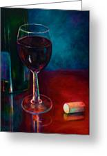 Zinfandel Greeting Card by Shannon Grissom