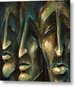 ' Jury Of Eight ' Metal Print by Michael Lang