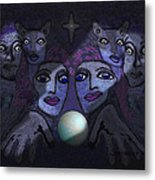 062 - Demons B Metal Print by Irmgard Schoendorf Welch