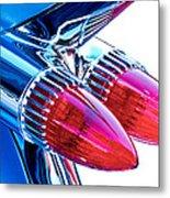1959 Caddy Metal Print by David and Carol Kelly