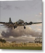 B17- 'airborne' Metal Print by Pat Speirs