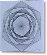 Energy Spiral Metal Print by Jason Padgett