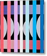 Fun Geometric  Metal Print by Mark Ashkenazi