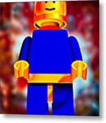 Lego Spaceman Metal Print by Bob Orsillo