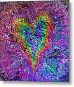 Love From The Ripple Of Thought  V 5  Metal Print by Kenneth James