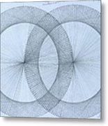 Magnetism Metal Print by Jason Padgett
