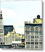 New York City Metal Print by Ken Marsh