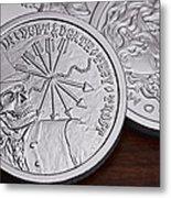 Silver Bullion Debt And Death Metal Print by Tom Mc Nemar