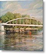 Tartu Arch Bridge Metal Print by Ahto Laadoga