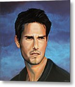 Tom Cruise Metal Print by Paul Meijering