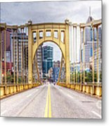 0305  Pittsburgh 10 Metal Print by Steve Sturgill