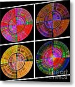 0454 Abstract Thought Metal Print by Chowdary V Arikatla