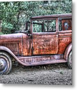 1928 Chevy Metal Print by Robert Jensen