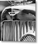 1934 Aston Martin Mark II Short Chassis 2-4 Seater Grille Emblem Metal Print by Jill Reger