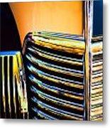 1939 Studebaker Champion Grille Metal Print by Carol Leigh