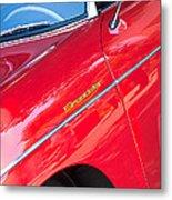 1955 Porsche 356 Speedster Metal Print by Jill Reger