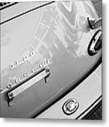 1960 Porsche 356 B 1600 Super Roadster Rear Emblem - Taillight Metal Print by Jill Reger