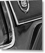 1969 Cadillac Eldorado Emblem Metal Print by Jill Reger