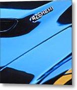 1971 Dodge 426 Hemi Challenger Rt Hood Emblem Metal Print by Jill Reger