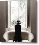 40s Lady Metal Print by Joana Kruse