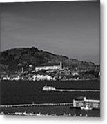Alcatraz Island Metal Print by Mountain Dreams