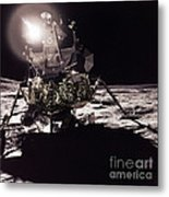Apollo 17 Moon Landing Metal Print by Science Source