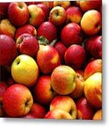 Apples Metal Print by Olivier Le Queinec