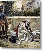 Archimedes  Metal Print by Granger