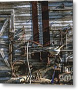 As Time Goes By Metal Print by Sandra Bronstein