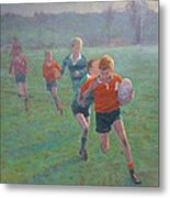 Auckland Rugby Metal Print by Terry Perham