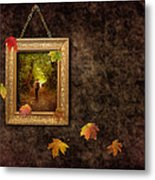 Autumn Frame Metal Print by Amanda And Christopher Elwell