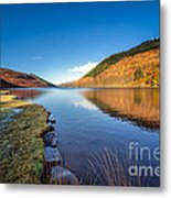 Autumn Reflections Metal Print by Adrian Evans