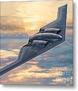 B-2 Spirit Metal Print by Stu Shepherd