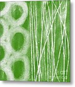 Bamboo Metal Print by Linda Woods