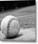 Baseball Metal Print by Kelly Hazel